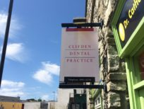 Clifden Dental Sign